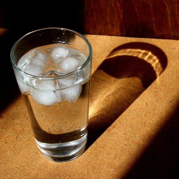 Glass of Ice Water in Sunbeam - Free High Resolution Photo