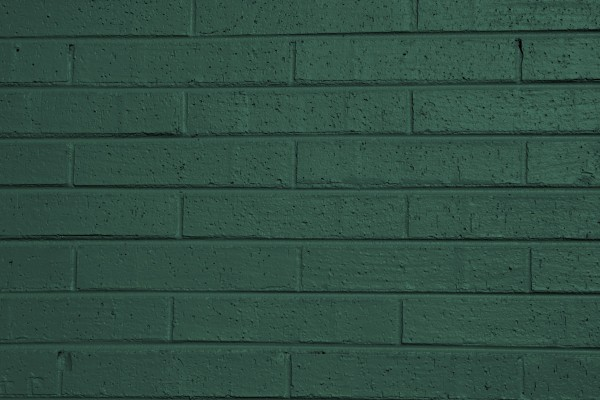 Green Painted Brick Wall Texture - Free High Resolution Photo
