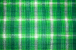 Green Plaid Fabric Close Up Texture - Free High Resolution Photo
