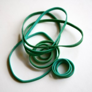 Green Rubber Bands - Free High Resolution Photo