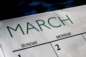 March Calendar - Free High Resolution Photo