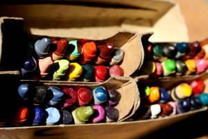 Old Crayons - Free High Resolution Photo