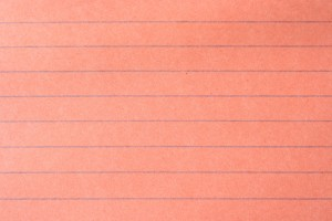 Orange Notebook Paper Texture - Free High Resolution Photo