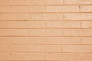 Light Orange or Peach Painted Brick Wall Texture - Free High Resolution Photo