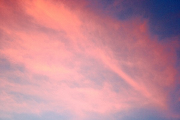 Pink Clouds at Sunset - Free High Resolution Photo