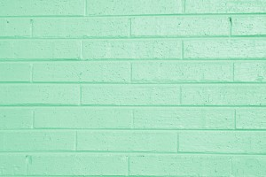 Pistachio Green Painted Brick Wall Texture - Free High Resolution Photo