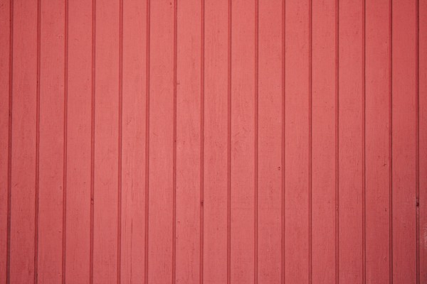 Red Painted Vertical Siding Texture - Free High Resolution Photo