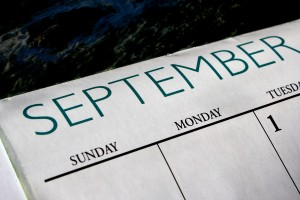 September Calendar - Free High Resolution Photo