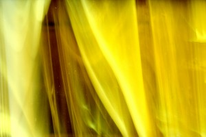 Swirled Yellow Glass Close Up Texture - Free High Resolution Photo