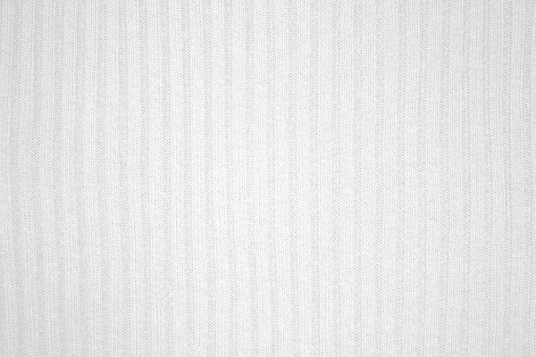 White Ribbed Knit Fabric Texture - Free High Resolution Photo