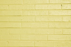 Yellow Painted Brick Wall Texture - Free High Resolution Photo