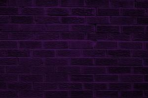 Dark Purple Brick Wall Texture - Free High Resolution Photo