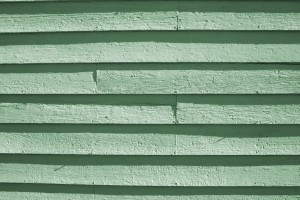 Green Painted Wooden Siding Texture - Free High Resolution Photo