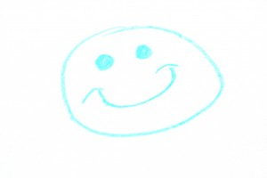 Hand Drawn Crayon Smiley Face - Free High Resolution Photo