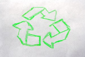 Hand Drawn Recycling Arrows - Free High Resolution Photo