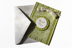 Hand Made Thank You Card with Envelope - Free High Resolution Photo