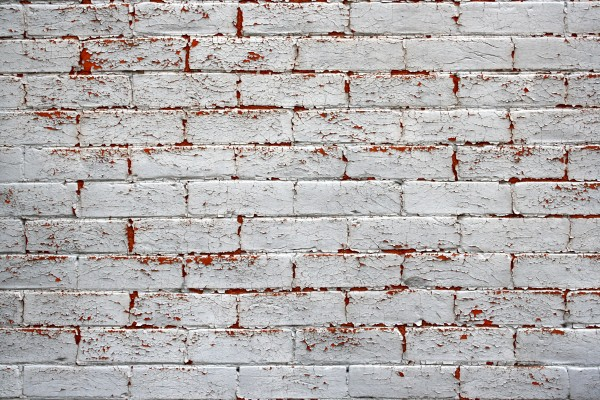 Peeling Painted Brick Wall Texture - Free High Resolution Photo
