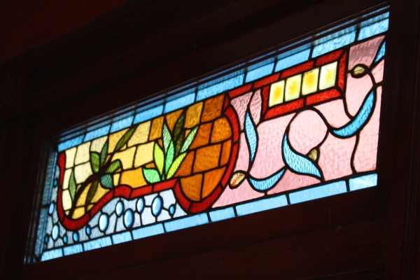 Stained Glass Transom Window - Free High Resolution Photo