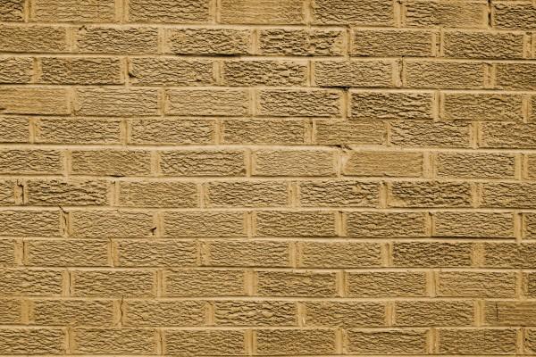 Tan Brick Wall Texture - Free High Resolution Photo