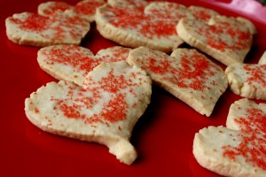 Valentine's Day Heart Cookies - Free High Resolution Photo