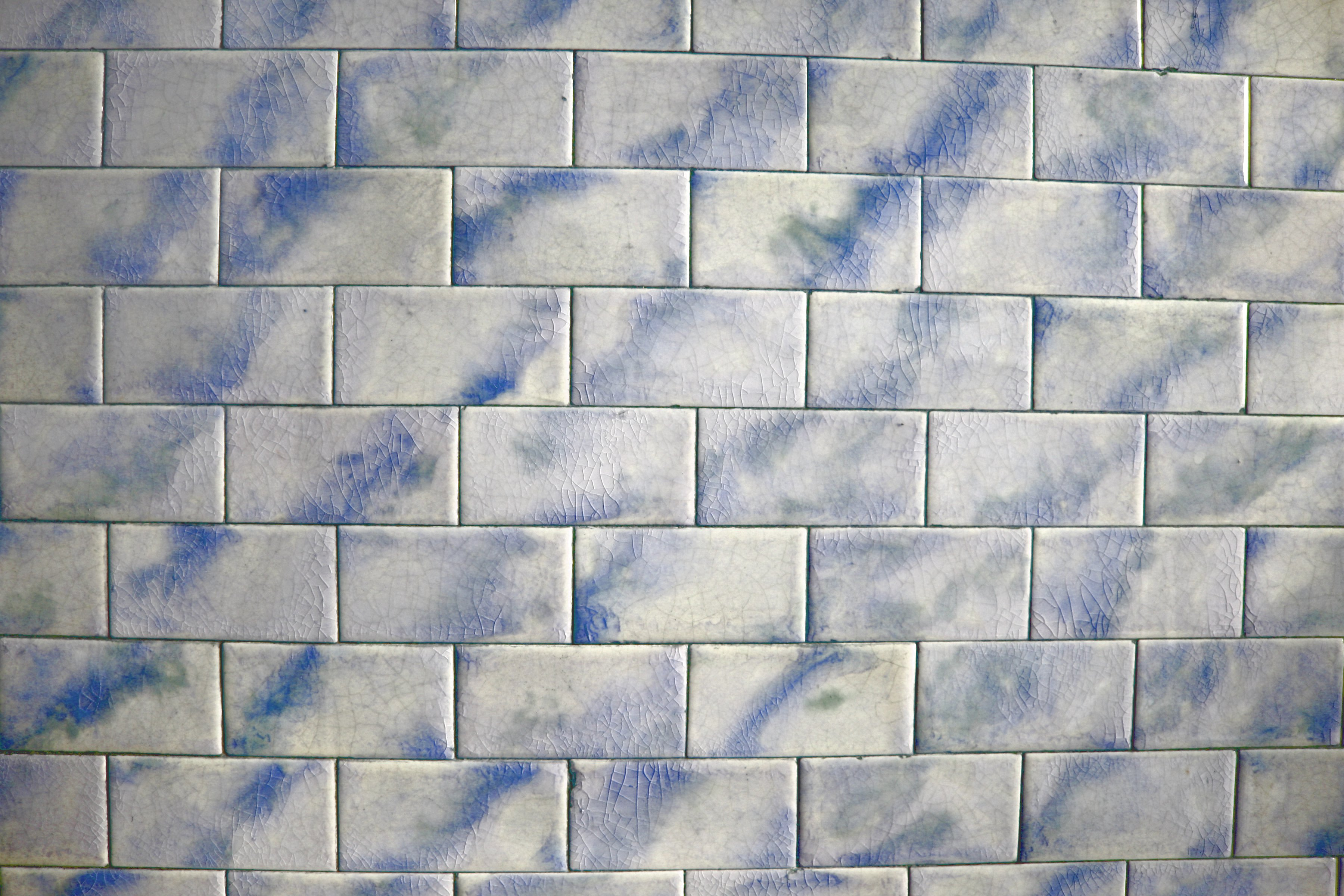 Vintage Blue And White Tile Texture Picture Free
