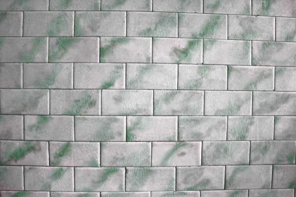Vintage Green and White Tile Texture - Free High Resolution Photo