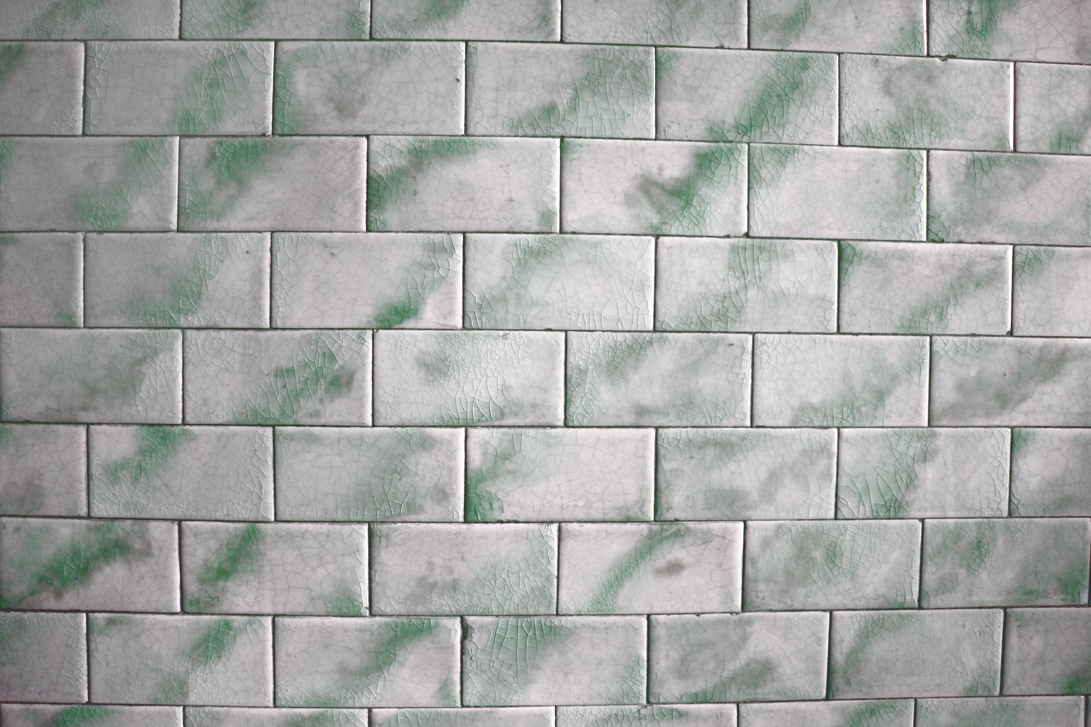 Vintage Green and White Tile Texture Picture   Free ...