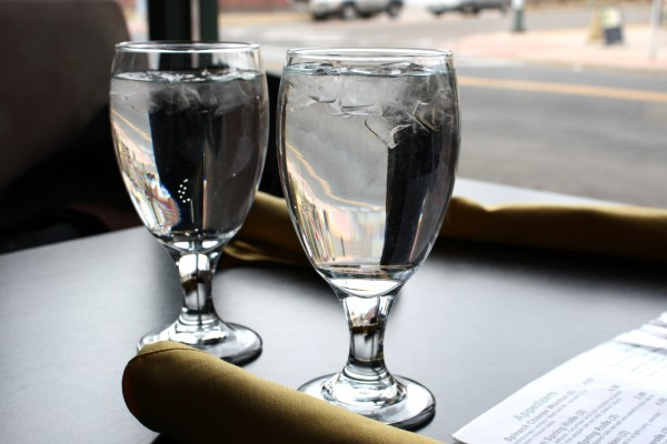 Water Glasses on Restaurant Table - Free High Resolution Photo