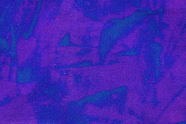 Blue and Purple Random Pattern Print Fabric Texture - free high resolution photo