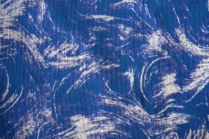 Fabric Texture with Blue Swirl Pattern - Free High Resolution Photo