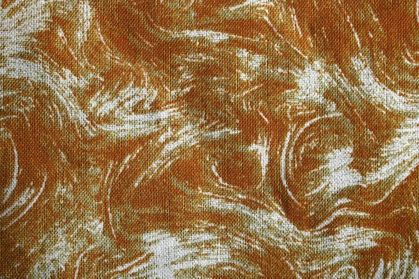 Fabric Texture with Brown Swirl Pattern - Free High Resolution Photo