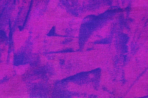 Pink and Blue Random Pattern Print Fabric Texture - Free High Resolution Photo