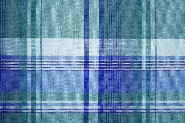 Blue Green Colored Plaid Fabric Texture - Free High Resolution Photo