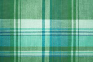 Green and Turquoise Plaid Fabric Texture - Free High Resolution Photo