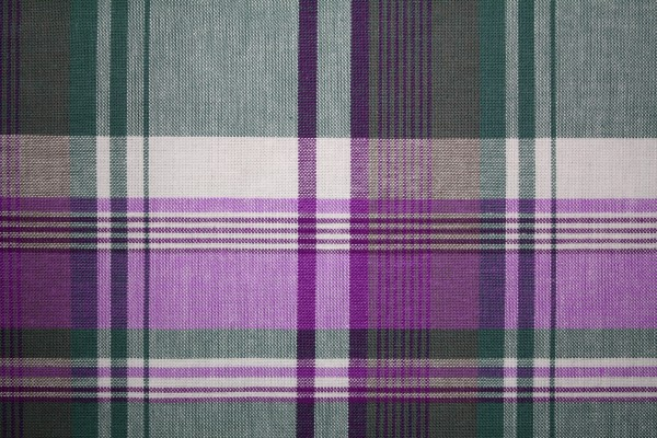 Plaid Fabric Texture - Purple and Green - Free High Resolution Photo