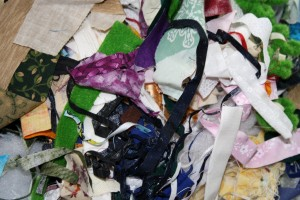 Small Pieces of Scrap Fabric - Free High Resolution Photo