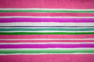 Striped Fabric Texture Pink and Green - Free High Resolution Photo