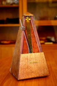 Wooden Metronome in Motion - Free High Resolution Photo