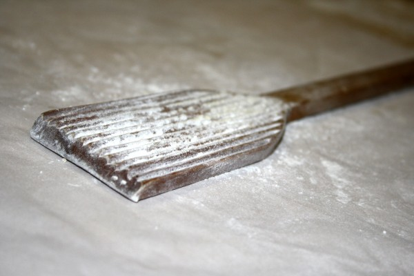Gnocchi Paddle with Flour - Free High Resolution Photo