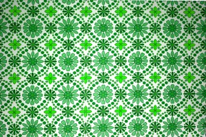 Green Flowers Wallpaper Texture - Free High Resolution Photo