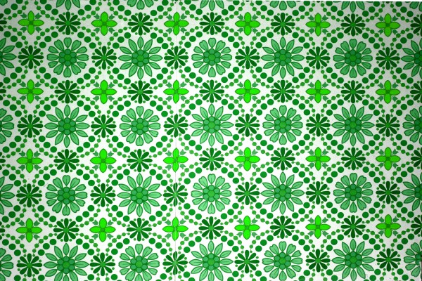 Green Flowers Wallpaper Texture - Free High Resolution Photo