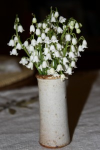 Lily of the Valley White Flowers in Vase - Free High Resolution Photo