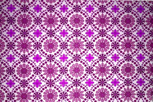 Magenta Flowers Wallpaper Texture - Free High Resolution Photo