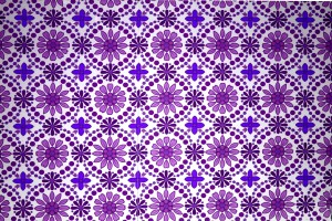 Purple Flowers Wallpaper Texture - Free High Resolution Photo