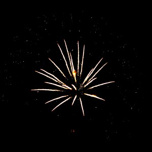 Fireworks Star Burst 4th of July - Free High Resolution Photo