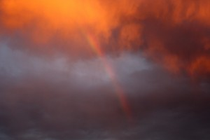 Rainbow at Sunset - Free High Resolution Photo