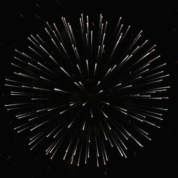 White Fireworks Star Burst - Free High Resolution Photo