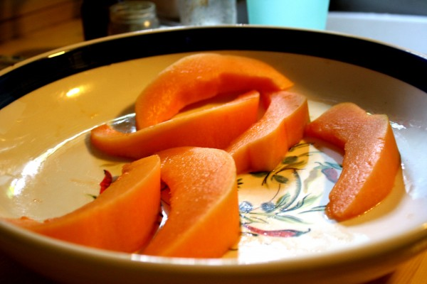 Cantaloupe Slices - Free High Resolution Photo