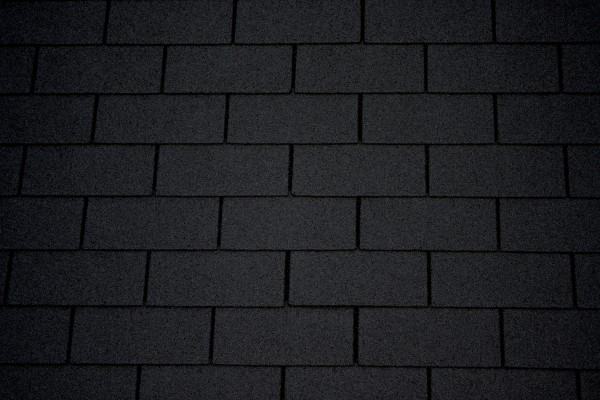 Charcoal Gray Asphalt Roof Shingles Texture - Free High Resolution Photo