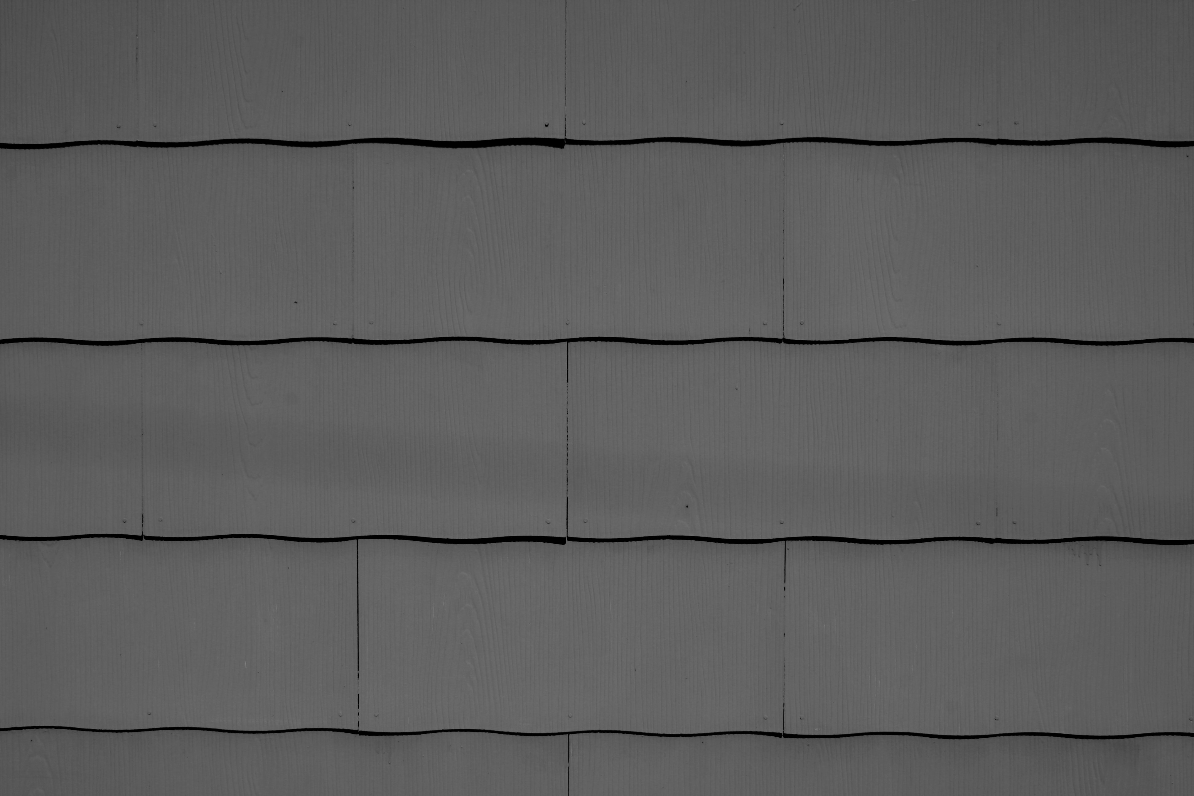 Charcoal Gray Scalloped Asbestos Siding Shingles Texture